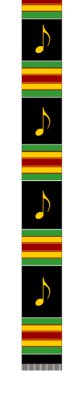 CHOIR KENTE 72 IN