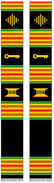 BLANK KENTE BLACK / RGG / MXD