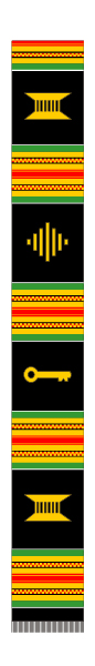 KENTE FOR KIDS SCARF