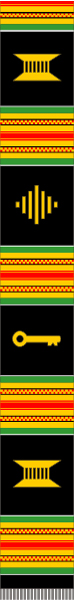 PLAIN KENTE MIXED SYMBOLS