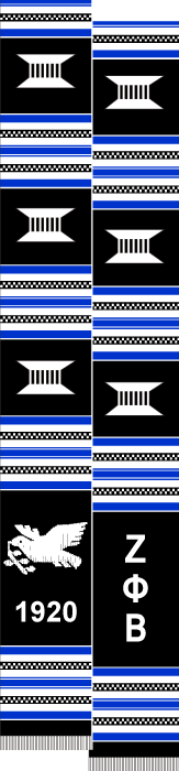 ZETA PHI BETA DOVE BLACK